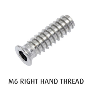 M6 Threaded Insert (Right Hand)