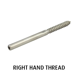 Lag Terminal (Right Hand) - 3.2mm Wire (Hydraulic Swager)